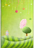 Cute Background stock illustration