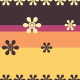 Cute background. VECTOR with flowers Stock Image