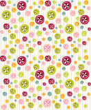 Cute background with buttons Royalty Free Stock Photo