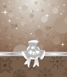 Cute background for Christmas packing. Illustration cute background for Christmas packing - vector Stock Photography
