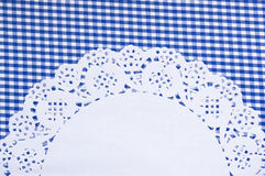 Cute background with a napkin Royalty Free Stock Photography
