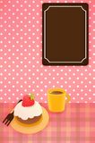 Cute Background. Vector File EPS10 Stock Images