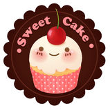 Cute bakery badge and label. Vector file EPS10 Royalty Free Stock Photos