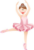 Cute ballerina girl Royalty Free Stock Photo
