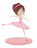 Cute Ballerina girl Stock Photography