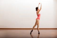 Cute ballerina performing Stock Photos