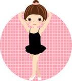 Cute ballet dancer,girl Royalty Free Stock Photography