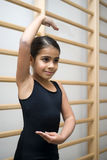 Cute ballet student Royalty Free Stock Images