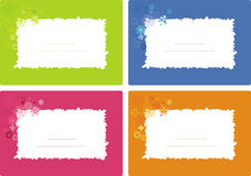 Cute banners Stock Images