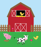 Cute Barnyard Royalty Free Stock Photography