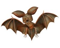 Cute bat 1 Stock Image