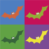 Cute bat Royalty Free Stock Images