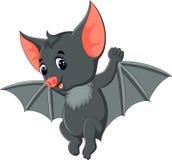 Cute Bat cartoon Stock Photography