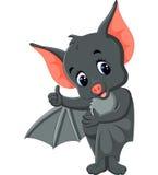 Cute Bat cartoon Royalty Free Stock Photos