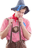Cute bavarian Stock Photo