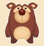 Cute Bear. Sad Bear. Cartoon Cute Character Royalty Free Stock Photography