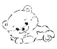 Cute Bear Royalty Free Stock Photo