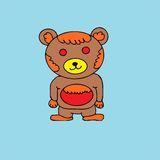 Cute bear  Royalty Free Stock Photography