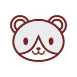 Cute bear face image Royalty Free Stock Image