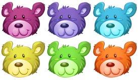 Free Cute Bear Heads Stock Photography - 43031802
