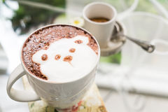 Cute Bear Hot Chocolate drink