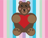 Cute bear Royalty Free Stock Photos