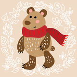 Cute bear Royalty Free Stock Image