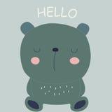 Cute bear Royalty Free Stock Photography