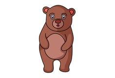 Cute Bear. Stock Image