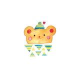 Cute bear vector illustration