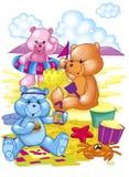 Cute bears Royalty Free Stock Image