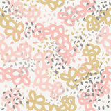 Cute beautiful abstract seamless pattern. Texture, textile, background, fabric. Stock Photography
