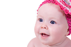Cute beautiful little girl Royalty Free Stock Photography