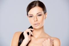 Cute beautiful young woman posing  Stock Photography
