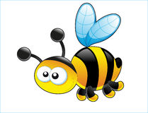 Cute bee. Royalty Free Stock Photography