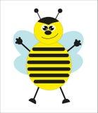 Cute bee. Stock Photo