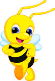 Cute bee cartoon Royalty Free Stock Photos