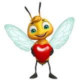 Cute Bee cartoon character Stock Photos