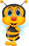 Cute bee cartoon Stock Photos