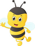 Cute bee cartoon Royalty Free Stock Image