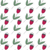 Cute bellflowers seamless pattern. Vintage background. Royalty Free Stock Images