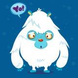 Cute bigfoot monster Royalty Free Stock Photo