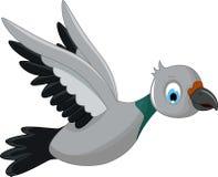 Cute bird cartoon. Illustration of cute bird cartoon Stock Images