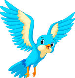 Cute bird cartoon stock illustration