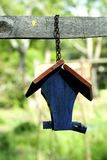Cute Birdhouse Stock Photo