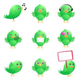 Cute birds Stock Photos