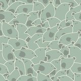 Cute birds pattern. Stock Photography