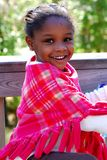 Cute Black Girl Stock Photography