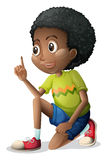 A cute Black kid Royalty Free Stock Image
