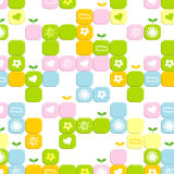 Cute block background Stock Image